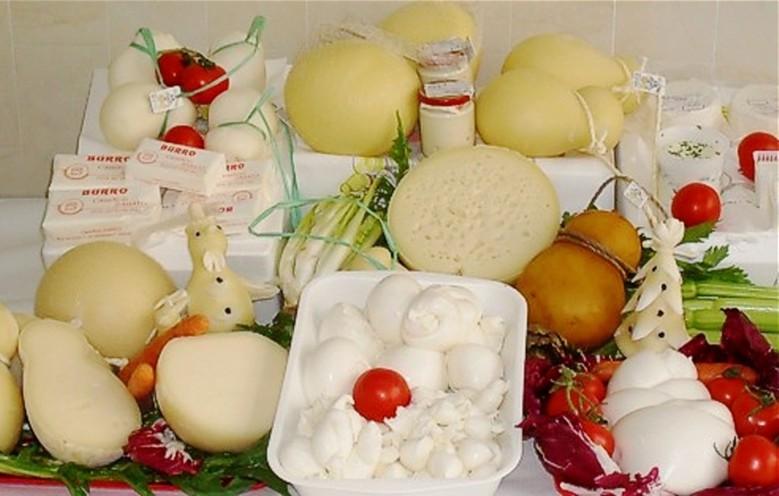 Burrata mozzarella giuncata e latticini prodotti caseari pugliesi